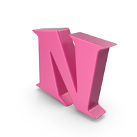 N Pink PNG & PSD Images
