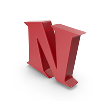 N Red PNG & PSD Images