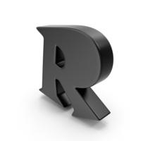 R Black PNG & PSD Images