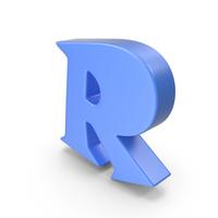 R Blue PNG & PSD Images