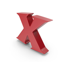 X Red PNG & PSD Images