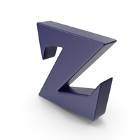 Z Dark Blue PNG & PSD Images