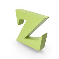 Z Light Green PNG & PSD Images