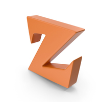 Z Orange PNG & PSD Images
