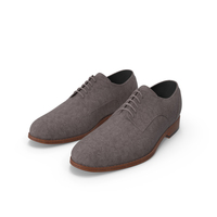 Men Leather Casual Shoes PNG & PSD Images