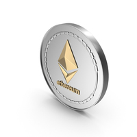 Ethereum Cryptocurrency Coin PNG & PSD Images