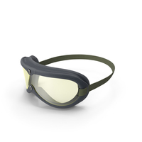 Vintage US Army Goggles PNG & PSD Images