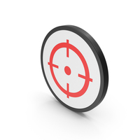 Icon Aim Red PNG & PSD Images