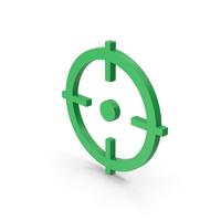 Symbol Aim Green PNG & PSD Images