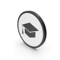 Icon Graduation Hat PNG & PSD Images