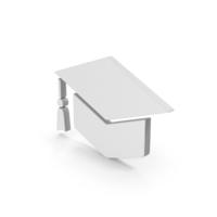 Graduation Hat Symbol PNG & PSD Images