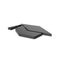Black Symbol Graduation Hat PNG & PSD Images