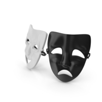 Theatre Masks PNG & PSD Images