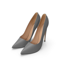 Womens Pointy Toe High Heels Slip PNG & PSD Images