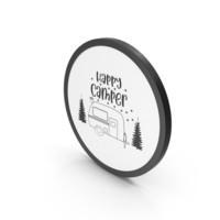 Icon Happy Camper PNG & PSD Images