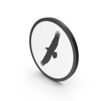 Icon Flying Eagle PNG & PSD Images