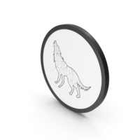 Icon Stylized Wolf PNG & PSD Images
