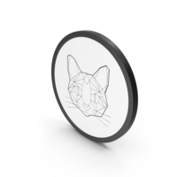 Icon Stylized Cat PNG & PSD Images