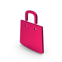 Symbol Shopping Bag Metallic PNG & PSD Images