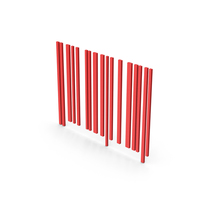 Symbol Barcode Red PNG & PSD Images