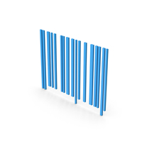 Symbol Barcode Blue PNG & PSD Images