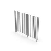 Symbol Barcode Silver PNG & PSD Images