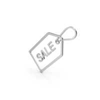 Symbol Sale Label Silver PNG & PSD Images