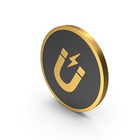 Gold Icon Magnet PNG & PSD Images