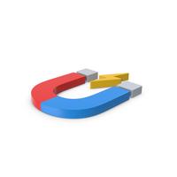 Colored Symbol Magnet PNG & PSD Images