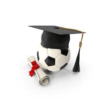 Graduation Soccer Ball PNG & PSD Images