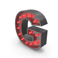 Bulb Letter G PNG & PSD Images