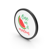 One In A Melon PNG & PSD Images