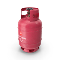 Gas Tank Acetylene PNG & PSD Images