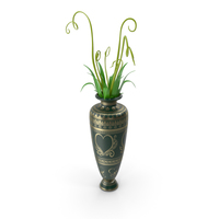 Vase With Plant PNG & PSD Images