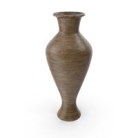 Decorative Vase Pot Wooden PNG & PSD Images
