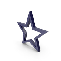 Star Dark Blue PNG & PSD Images