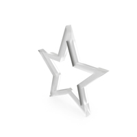 Star Matte Glass PNG & PSD Images