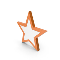 Star Orange PNG & PSD Images