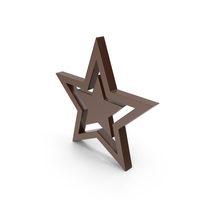 Star Brown PNG & PSD Images