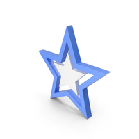 Star Blue PNG & PSD Images
