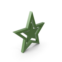 Star Green PNG & PSD Images