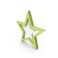 Star Light Green PNG & PSD Images