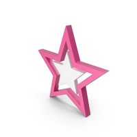 Star Pink PNG & PSD Images