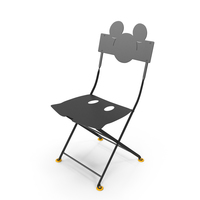 Fermob Bistro Mickey Mouse Chair Set PNG & PSD Images