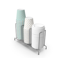 Paper Coffee Cup Ron Holder PNG & PSD Images