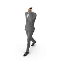 Talking Phone Suit Grey PNG & PSD Images