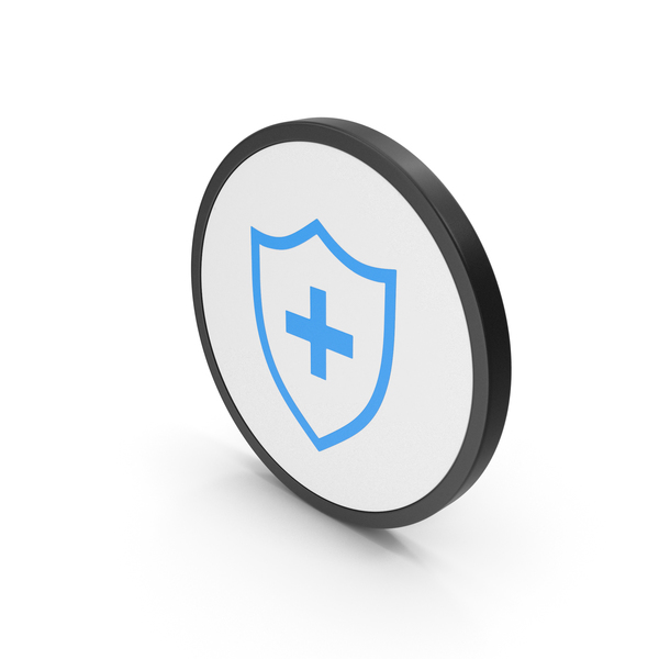 Icon Medical Shield Blue PNG & PSD Images