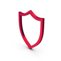 Symbol Shield Metallic PNG & PSD Images