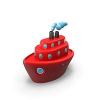 Cartoon Ship PNG & PSD Images