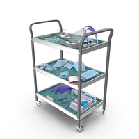 Medical Trolley PNG & PSD Images